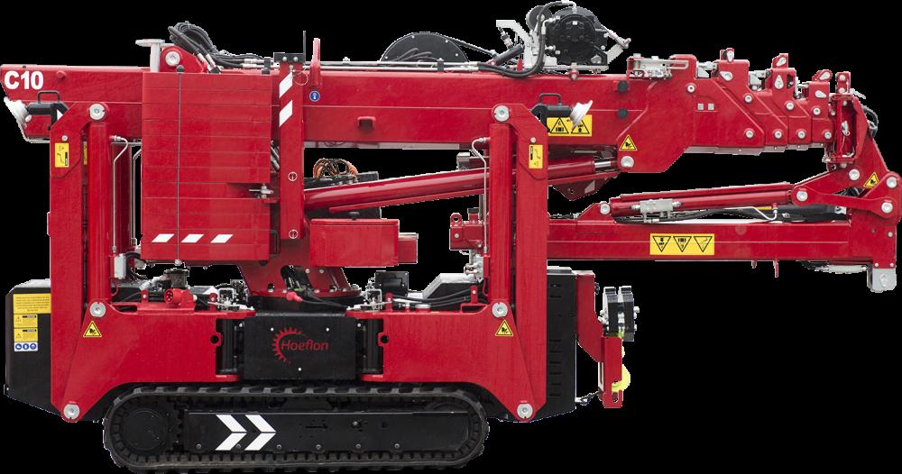Hoeflon C10 Compact Crane