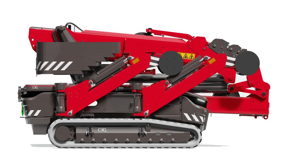 Hoeflon C30e Compact Crane
