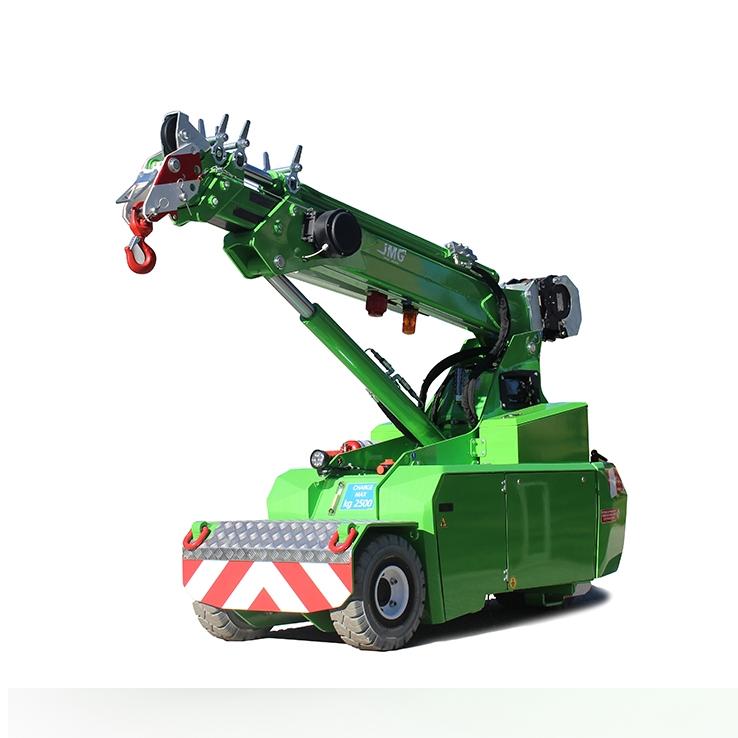 Radio remote controlled Cranes