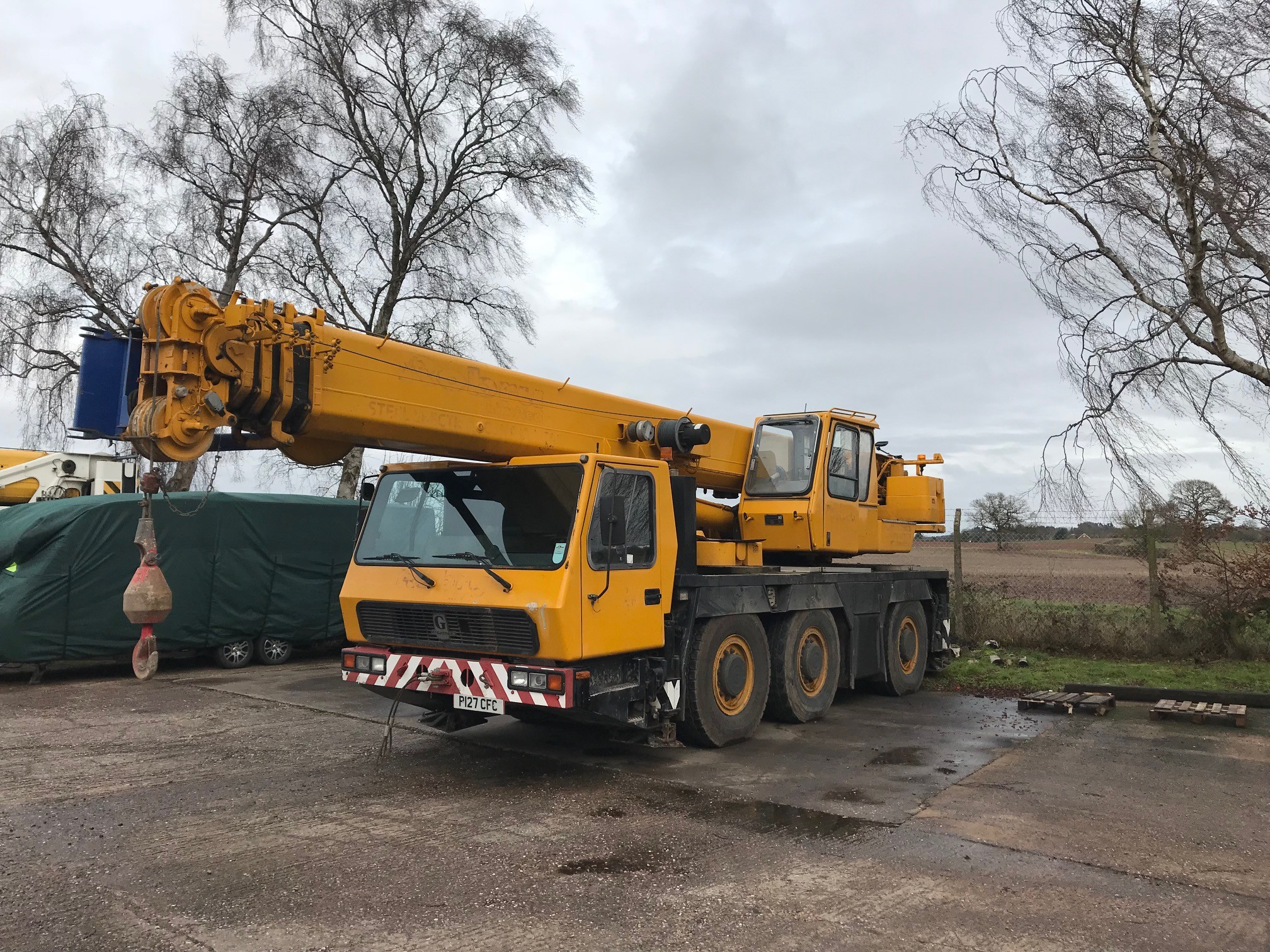 1997 grove gmk 3050 2018 foster crane equipment ltd for Crane grove